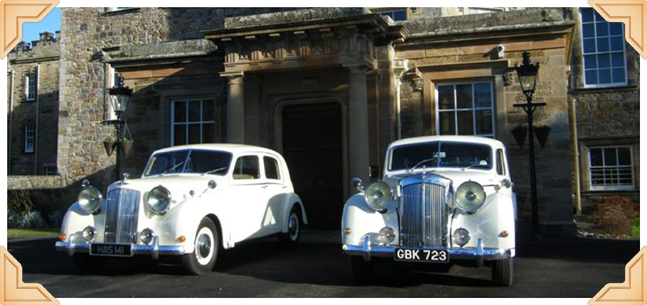 Lothian Classic Wedding Cars home page image of Sheerline limos